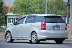 Private car, Toyota Wish. Stock Photo