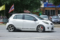 Private car toyota Yaris. Royalty Free Stock Photo