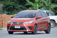 Private car, Toyota Yaris Stock Images