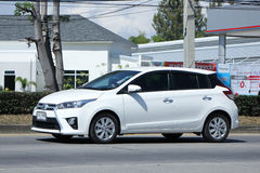 Private car, Toyota Yaris. Stock Images