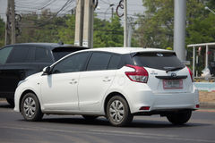 Private car toyota Yaris Eco Car Stock Photography