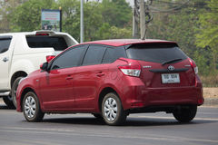 Private car toyota Yaris Eco Car Royalty Free Stock Photography
