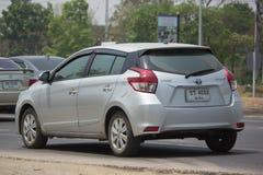 Private car toyota Yaris Eco Car Stock Image