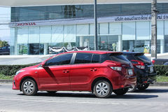 Private car toyota Yaris Eco Car Royalty Free Stock Image