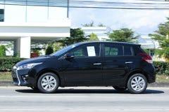Private car toyota Yaris Eco Car Stock Photos
