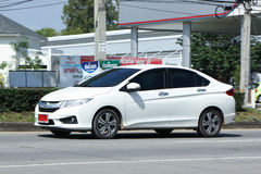 Private City Car, Honda City Stock Photo