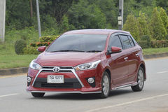 Private City Car, Toyota Yaris 2016 Stock Image