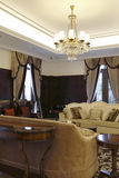 Private club luxurious sitting room Stock Photography