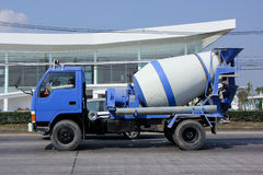 Private Concrete truck. CHIANGMAI , THAILAND -APRIL 30 2015:   Private Concrete truck. Photo at road no 1001 about 8 km from downtown Chiangmai, thailand Stock Images