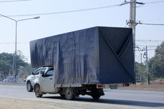 Private  container Truck. Stock Photography