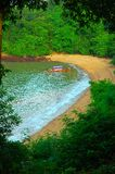 Private Cove. South Krabi, Thailand Stock Images