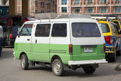 Private Daihatsu old Van Car. Royalty Free Stock Photography