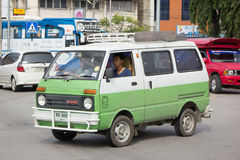 Private Daihatsu old Van Car. Stock Image
