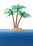 Private desert island. Your own desert island where you can escape from the world Royalty Free Stock Photography