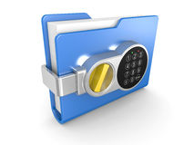 Private documents folder Royalty Free Stock Photo