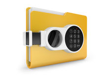 Private documents folder Stock Photography
