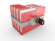 Private documents folder Royalty Free Stock Image