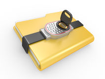 Private documents folder Royalty Free Stock Images