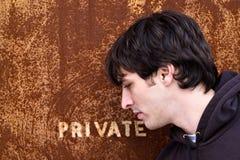 Private Doorway Royalty Free Stock Photos