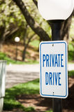 Private drive Stock Images