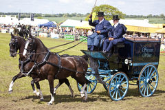 Private Driving at The Herts County Show 2014 Stock Image