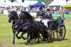Private Driving at The Herts County Show 2014 Stock Images