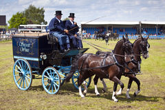 Private Driving at The Herts County Show 2014 Royalty Free Stock Image