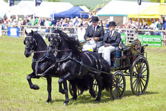 Private Driving at The Herts County Show 2014 Royalty Free Stock Images