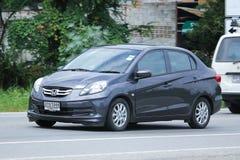Private Eco car, Honda Brio, Amaze Stock Images