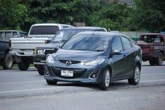 Private Eco car, Mazda 2. Stock Photography