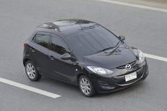 Private Eco car Mazda2. Royalty Free Stock Image