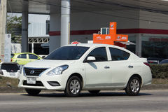 Private Eco car, Nissan Almera Royalty Free Stock Image