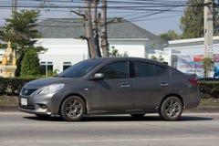 Private Eco car, Nissan Almera Stock Images