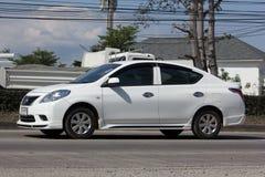 Private Eco car, Nissan Almera,N17 Stock Image