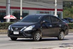 Private Eco car, Nissan Almera,N17 Royalty Free Stock Photos