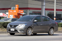 Private Eco car, Nissan Almera,N17 Stock Images