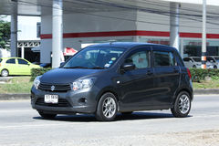 Private Eco car, Suzuki Celerio Royalty Free Stock Image