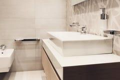 Private bathroom Stock Image