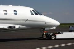 Private Exec Jet Stock Photo