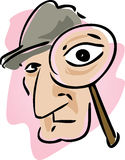 Private eye Royalty Free Stock Images
