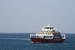 Private ferry-boat to Corfu Stock Photography