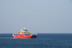 Private ferry-boat to Corfu Royalty Free Stock Photography