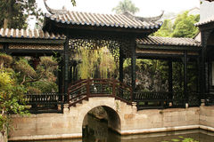 A private garden in China Stock Image