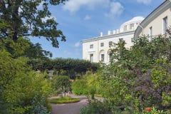 Private garden of Empress Maria Feodorovna Stock Photography