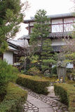 Private garden - Kyoto - Japan Royalty Free Stock Image