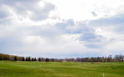 Private golf field Royalty Free Stock Photos