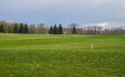 Private golf field Royalty Free Stock Photo