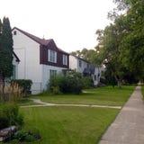 Private Häuser Lizenzfreie Stockfotos