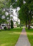 Private Häuser Lizenzfreies Stockfoto