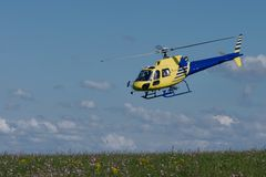 Private helicopter Royalty Free Stock Photos